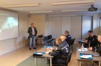 Курсанти Університету проходять базовий курс розмінування на базі школи рятувальників у м.Вяйке-Марья Естонської Республіки