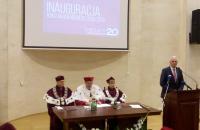 Представник Університету взяла участь в Урочистій інавгурації з нагоди 20-річчя Державної вищої технічно-економічної школи ім. Б. Маркевича