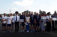 Чемпіонат України з пожежно-прикладного спорту оголошено закритим!