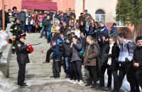 Викладач Університету Руденко Д.В. разом з курсантами прийняли участь у Дні цивільного захисту на базі Львівської СЗШ №44 ім. Т.Г. Шевченка
