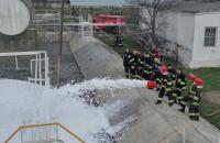 Кафедрою пожежної тактики та аварійно-рятувальних робіт проведено практичні заняття  на складі паливно-мастильних матеріалів