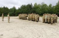 Військова кафедра Університету провела практичні заняття з вогневої підготовки