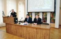 Представники управління оповіщення, телекомунікацій та інформаційних технологій ДСНС України зустрілись з курсантами та студентами, які навчаються за спеціальністю «Кібербезпека»