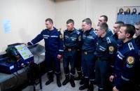 В навчальній пожежно-рятувальній частині Університету проведені заняття з особовим складом чергових караулів щодо перевірки апаратів на стисненому повітрі спеціальною випробувальною станцією LABTEC LABRONIK 1500