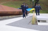 Курсанти Університету долучились до традиційного підняття Державного Прапора