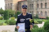 Богдан Годісь посів ІІ місце у вечірньому забігу-феєрії