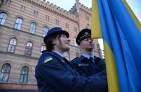 В Університеті відбулись урочистості з нагоди Дня Державного Прапора України