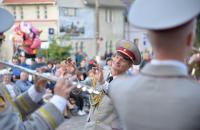 Оркестр Львівського державного університету безпеки життєдіяльності взяв участь у військово-патріотичному фестивалі «Музичні барви Прикарпаття»