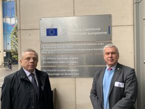Ректор Університету Мирослав Коваль взяв участь у консультативній сесії EU-CHEM-REACT 2 у Брюсселі
