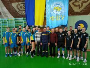 Команда Університету взяла участь в фінальних  змаганнях з волейболу серед команд рятувальників Західного регіону