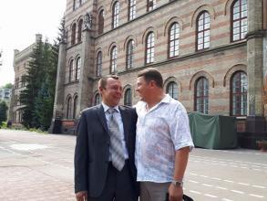 До Львівського державного університету безпеки життєдіяльності повернулись випускники 1992 року