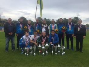 Команда Університету посіла перше місце у  XXXV міжнародних змаганнях з пожежно-прикладного спорту