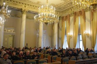 Представники Університету взяли участь у заході присвяченому звітуванню діяльності департаменту з питань цивільного захисту Львівської обласної державної адміністрації