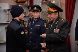 Курсанти ННІПтаТБ отримали погони молодшого сержанта служби цивільного захисту