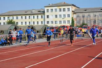 У Чопі завершились змагання за Кубок України з пожежно-прикладного спорту
