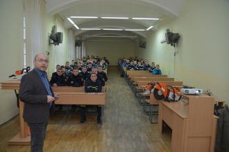 Представники компанії Andreas STIHL в Україні провели тренінг у Львівському державному університеті безпеки життєдіяльності