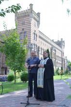 В Університеті відбулись урочистості з нагоди Дня рятівника