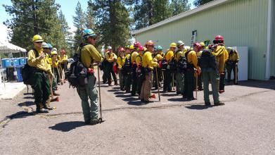 Представник Університету здобув досвід гасіння лісових пожеж в США