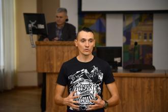 В Університеті відбулася зустріч курсантів із заступником голови громадської організації «Рух» Твереза Україна»