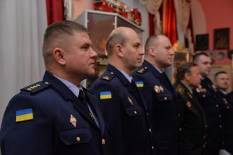 Курсанти Університету отримали погони молодшого сержанта служби цивільного захисту