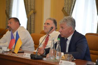 Університет з робочим візитом відвідав Голова служби Микола Чечоткін та чеські рятувальники