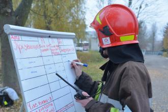 На полігоні ЛДУБЖД відбулася практична підготовка рятувальників з п'яти областей