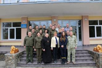 Представник Університету взяв участь в оцінюванні «Найкращого психолога Національної гвардії України»