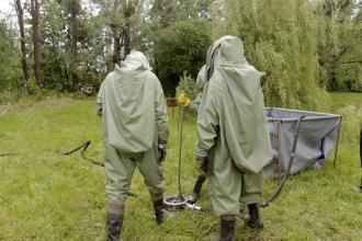 Курсанти Університету вдосконалюють практичні вміння щодо ліквідації аварій на хімічно-небезпечних об'єктах