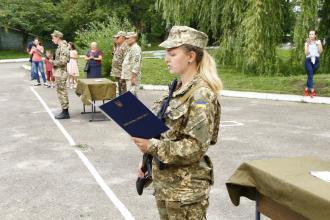 На кафедрі військової підготовки Львівського державного університету безпеки життєдіяльності завершились навчання майбутніх офіцерів запасу