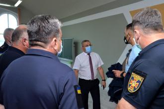До Львівського державного університету безпеки життєдіяльності завітав представник Відділу Посольства США в Україні