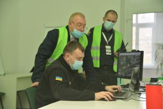 В університеті відбулися командно-штабні навчання в рамках проекту ОБСЄ