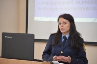 Студенти-менеджери взяли участь у  відкритій лекції з дисципліни «Адміністративне право»