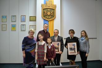 «Дякуємо за мільйон дитячих посмішок»: діти Львова подякували адміністрації Університету за свято безпеки