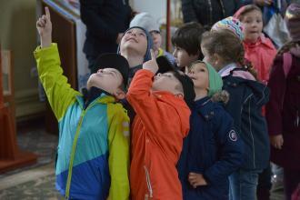 У гості до рятувальників завітали дошкільнята