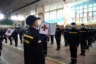 В ЛДУБЖД відбулись урочистості з нагоди складання першокурсниками Присяги на вірність українському народові
