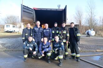 Випробування пожежних тепловізорів на «Вогневому модулі» ЛДУБЖД