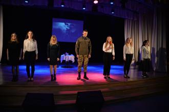 У Львівському державному університеті безпеки життєдіяльності відбувся вечір приурочений пам'яті жертв Революції Гідності