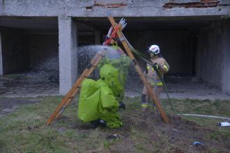 Третій день Міжнародних польових навчань EU-CHEM-REACT за участі країн ЄС та Львівського державного університету безпеки життєдіяльності