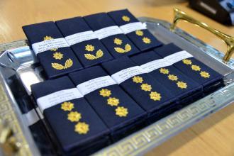 Офіцерам Університету присвоїли чергові спеціальні звання