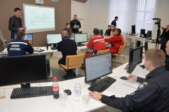 У рамках командно-штабних навчань продовжується ініціалізація нових завдань для штабу ліквідації НС