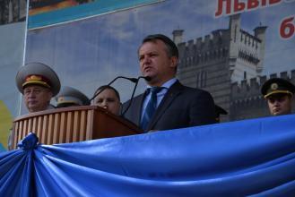 У Львівському державному університеті безпеки життєдіяльності відбулись урочистості з нагоди Дня знань та складання Присяги першокурсниками