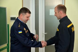 В інституті післядипломної освіти завершилася підвищення кваліфікації начальників караулів ДСНС України