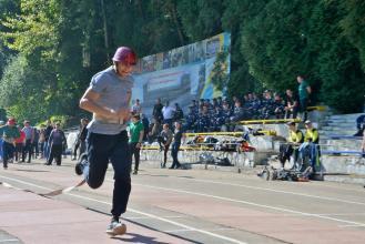 На базі Університету стартували Х змагання ПАТ «Укрзалізниця» з пожежно-прикладного спорту
