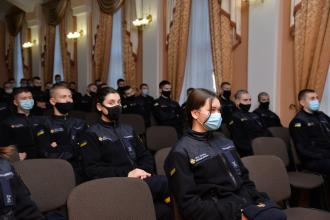 В Університеті відбулася зустріч курсантів з старшим лейтенантом поліції Олегом МЕЛЬНИКОМ