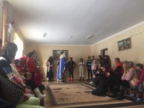 Студенти Університету стали помічниками Святого Миколая