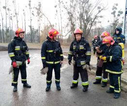Слухачі післядипломної освіти тренуються у «Вогневому модулі»