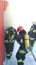 Проведено практичне заняття з дисципліни«Підготовка газодимозахисника» на багатофункціональному тренажері контейнерноготипу