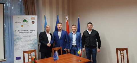Делегація Університету взяла участь в координаційній нараді в рамках проекту EU-CHEM-REACT 2