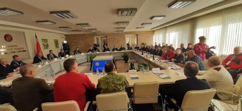 Делегація ЛДУБЖД на Командно-штабних навчаннях у Республіці Білорусь