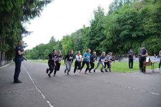 В Університеті відбулися змагання з легкоатлетичного кросу